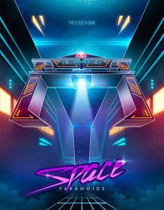 Space Paranoids by Cristian M. Ruiz Parra, via Behance