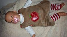 Latzhose Pumphose Strampler Spieler * Äpfelchen ** von Needle Princess auf DaWanda.com