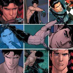 Dick Grayson: Robin I, Nightwing, Batman Superman, Im Batman, Batman Robin, Tim Drake, Nightwing, Batgirl, Supergirl, Gotham, Arte Dc Comics