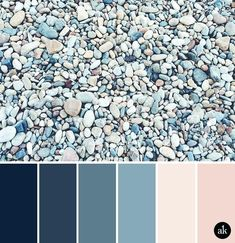 blue color palette for bedroom a rock inspired color palette navy indigo ocean blue peach nude pink master bedroom to match painting grey blue colour scheme bedroom Nature Color Palette, Blue Colour Palette, Blue Color Schemes, Blue Color Pallet, Pink Palette, Grey Color Palettes, Color Blue, Palette Design, Blue Color Combinations