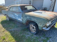 classic 1966 Chevrolet Chevelle 396 SS 4SPD PROJECT for sale Chevelle Ss For Sale, Project Cars For Sale, Marina Blue, Chevrolet Chevelle, Antique Cars, Restoration, Classic, Projects, Vintage Cars