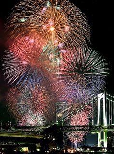 東京湾大華火祭 Tokyo Bay Fireworks Festival 2015/Asashi.com