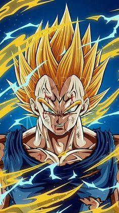 Wallpaper Animes, Animes Wallpapers, Dragon Ball Gt, Majin Tattoo, Super Vegeta, Chicano Lettering, Captain America Wallpaper, Ball Drawing, Naruto Uzumaki Art