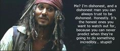 Johnny Depp as Captain Jack Sparrow Johnny Depp, Here's Johnny, Jack Sparrow Quotes, Captain Jack Sparrow, Pirate Life, Film Serie, Pirates Of The Caribbean, Movie Quotes, Good Movies