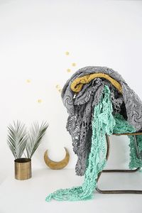 Image of Couvre lit en crochet
