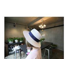 Mプリンティングストラップフェドラ [Daily about:デイリーアバウト]韓国人気レディースファッション通販! お手ごろなオリジナルアイテムが盛りたくさん!!