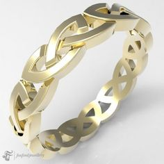 14k Gold Celtic Ring #Celtic #Gold #CelticRing #Keltischer #CelticRings Silver Claddagh Ring, Claddagh Rings, Celtic Knot Ring, Celtic Rings, Pretty Lights, Open Weave, Bangles, Bracelets, Sterling Silver