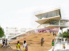 big architecture   ... Center in Denmark / BIG Architects - eVolo   Architecture Magazine