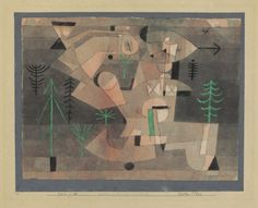 Paul Klee Garten-Plan (Project for a Garden), 1922 Watercolour and pen on paper on cardboard. Klimt, Futurism Art, Paul Klee Art, Z Arts, File Image, Mexican Art, Wassily Kandinsky, Cubism, Teaching Art