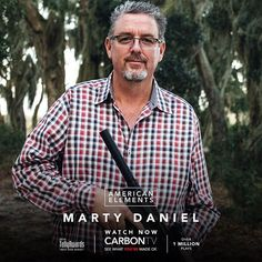 Firearms entrepreneur. Precision, innovation, and nothing less. Meet #MartyDaniel on #AmericanElements, exclusively on CarbonTV.com! 💥🔫 #danieldefense