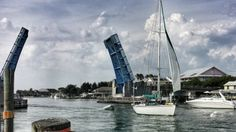 Casey Key drawbridge, Memorial Day, 2014