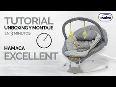 Tutorial Unboxing y Montaje en 3 min. l Hamaca Excellent l Asalvo // Unboxing and Assemby in 3 min. Tutorial l Baby Bouncer Excellent l Asalvo