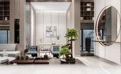 Oriental Fashion, Oriental Style, Luxury Homes, Oversized Mirror, Living Room, Interior Design, House, Furniture, Home Decor