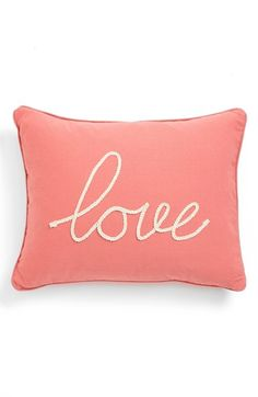 'Love' Pillow  http://rstyle.me/n/d8smnpdpe