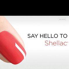 CND Shellac....2 week mani!