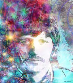 Ringo Print By Danny Walton