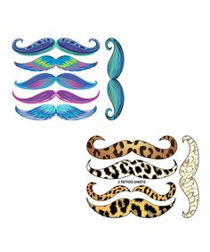 Look at this Little Diva 'Stache Set on #zulily today!