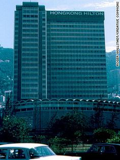 Hilton, Hong Kong. Countless thirsty travelers saved and their wallets thinned -- all thanks to one Hilton executive who, in 1974, was inspired to stock overprised liquors in all 840 rooms, in the Hilton's Hong Kong property. The minibar invention was said to have led to a 500% increase in room service drink sales and a 5% boost to the company's net income that year.