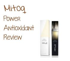 I was in definite need of some serious skin rejuvenation. The Mitoq Power Antioxidant Moisturizing Serum is a very high quality anti-aging moisturizer. Not only does it do the normal everyday moisturizing but it's 10x more potent than regular. It protects against free radical damage that is caused by aging or too much exposure to the sun.