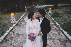 Boda en Aldea Santillana con precioso vestido de @emiliosalinas #boda #wedding #aldeasantillana #emiliosalinas #weddingdress