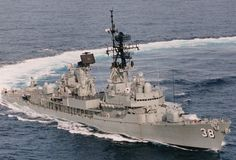 HMAS Perth DDG-38 (DESTROYER GUIDED MISSILE PLATFORM 38)