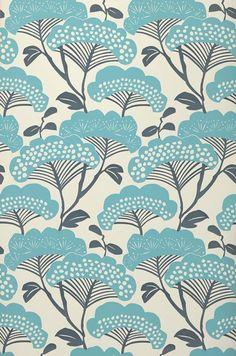 Zwegi | Papel de parede floral | Padrões de papel de parede | Papel de parede dos anos 70