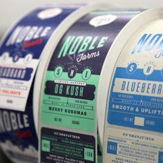 Noble Farms labels