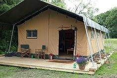 Great canvas tents for glamping! http://accordingtobrian.com/canvas_glamping_tents?=bigtents