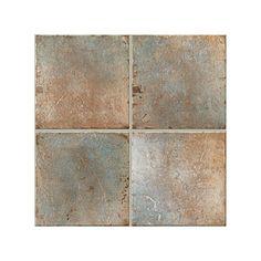 "MSI Granite Colors   MSI 4"" x 4"" Tumbled Marble Tile in Café Forest   Wayfair"