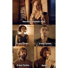 Tyrion is doomed.