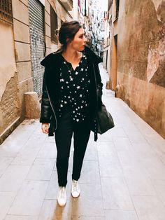 Casual winter look by Morgane : shirt Zara + coat Zara + Forte Forte trousers + Golden Goose sneakers #teampotoroze