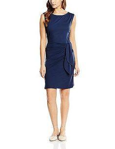 10, Blau (ink blue 8200), Blaumax Women's Helia Pencil Sleeveless Dress NEW