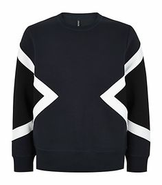 Neil Barrett Spliced Neoprene Sweatshirt