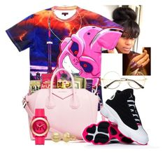 """""""Dragon ball z"""" by china-dolly on Polyvore featuring Jennifer Zeuner, Michael Kors and Belk & Co."""