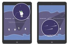 Site d'xo7 avec des illustration, responsive, vectoriel, parallax