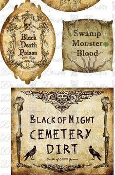 potion labels                                                                                                                                                      More