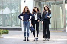 2014 S/S Seoul Fashion WeeK Street style // streetper.co.uk  | @printedlove