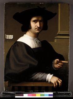 1521 Tommaso Fiorentino (Tommaso di Stefano Lunetti) (Italian, Florentine, ca. 1495–1564)   Portrait of a Man