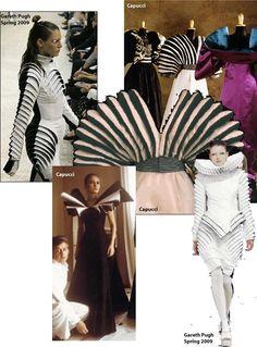 ROBERTO CAPUCCI influences designer GARETH PUGH.