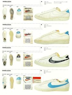 Nike Vintage Tennis Shoes