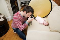 Baby Photography Ideas: photograph your infant at its cutest