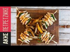 Club Sandwich by Greek Chef Akis Petretzikis. A delicious Club Sandwich with chicken, bacon, homemade mayonnaise and fries that makes perfect snack or meal! Greek Recipes, Raw Food Recipes, Cooking Recipes, Healthy Recipes, Sweets Recipes, Chicken Slices, Chicken Breast Fillet, Tasty Videos, Homemade Mayonnaise