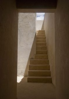 Love how these stairs fit in betwen walls Umma House, Lamu Town, Kenya, Africa