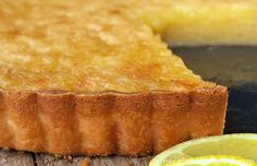 Lemon Chess Tart with Shortbread Crust - a classic Southern recipe with a little twist. This is one crazy-good take on Lemon Chess Pie.