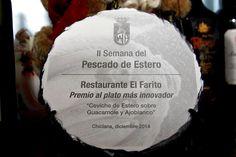 Premio a la mejor tapa de chiclana innovadora ,en El FARITO
