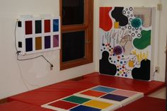 Interactive Tactile Wall & Musical Squares. Autism Sensory, Playroom, Squares, Counter, Walls, Museum, Kids Rugs, Children, Check