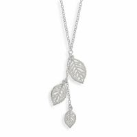 Sterling Silver Leaf Drop Necklace Dress up your office clothing with this lovely three-leaf necklace! This would also make a great gift idea for the nature lover in your family. Made out of 925 Sterling Silver and hangs inches. Leaf Necklace, Drop Necklace, Fashion Jewelry, Women Jewelry, Wholesale Silver Jewelry, Leaf Jewelry, Jewelry Necklaces, Silver Jewellery, Silver Stars