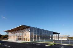 DLW-architectes · Center of waste managment service of Saint-Nazaire