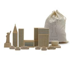 New York City in a Bag, by MUJI