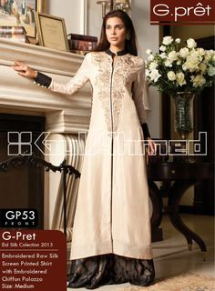 "Getting great response for previous collection"" Women Embroidered Silk Velvet Coats by Gul Ahmed"", it is back with the latest clothes and it is named as ""Gul Ahmed G-Pret Winter Collection 2014"". Winning many of nationwide and…More picture and detail available at http://www.newfashioncorner.com/gul-ahmed-g-pret-winter-collection-2014/"